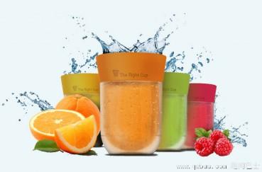 爱喝饮料又怕胖?那就用果味水杯喝白开水吧