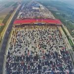 路透社2015最佳航拍图:第一张就让中国人抓狂