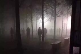 京城雾霾史上罕见 浓度逼近1952年伦敦烟雾事件