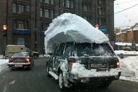 俄网友发图怀念冰天雪地奇葩事
