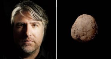 一张土豆照片卖75万英镑 摄影师为斯皮尔博格拍过照