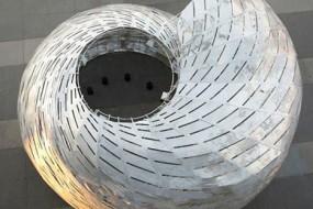 NASA打造海螺形建筑 游客从中了解卫星情况