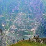 土耳其世界最危险道路百公里山路29处急弯