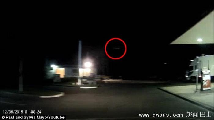 澳大利亚资深天文爱好者的行车记录仪捕捉到UFO