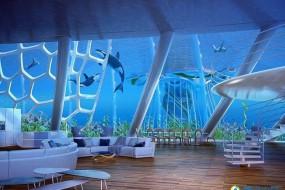 超级海上住宅区可供2万人在海底居住