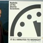 末日钟再调整 核武使人类离世界末日只剩3分钟