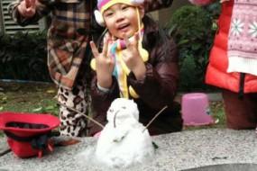 广州60年来首次降雪 凌晨温度直逼冰点
