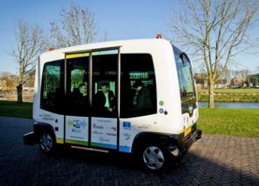 荷兰无人巴士预计今夏正式投入使用