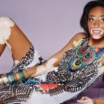 温妮·哈洛不畏白癜风 成西班牙时装杂志封面女郎