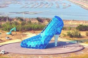 为吸引女信徒 台湾教派建高跟鞋教堂