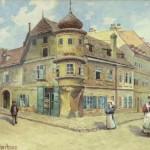 阿道夫·希特勒水彩画将在德国纽伦堡拍卖