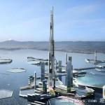 世界第一高楼要落户日本东京湾:比哈利法塔高一倍