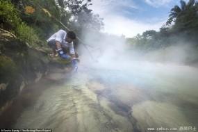 亚马逊神秘沸腾河能烫伤活物
