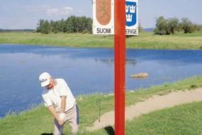 全球最有趣的国界线 一个高尔夫球洞跨两国