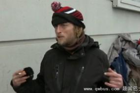 美国乞丐都用手机乞讨了 有专用app