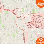 艺术家用GPS轨迹作画