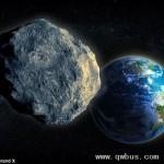 小行星下月飞掠地球 篮球场大小