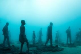 大西洋艺术馆海底雕像群将开放