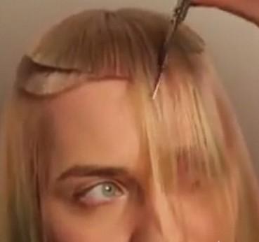 模特被理发师剪坏头发只能剃光头