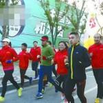 小伙从上海跑步到北京 只身一人跑22天