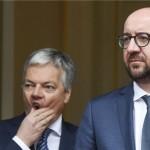 比利时副首相表情丰富屡抢镜