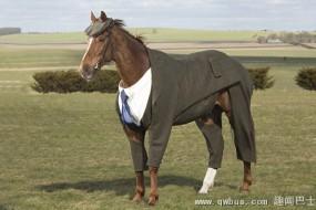 英国赛马穿定制粗花呢西装三件套参赛