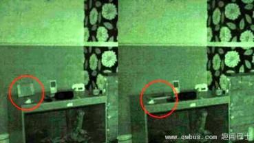 家中物件常无故倒下 男子以夜视镜头拍下屋内灵异现象