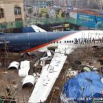 """波音737""""降落""""武汉街头成主题餐厅"""