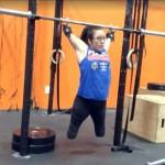无四肢残疾女健身视频令人惊叹