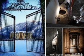 夫妻网购法国18世纪古堡 竟发现神秘隧道