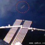 美宇航局播放空间站附近透明UFO视频