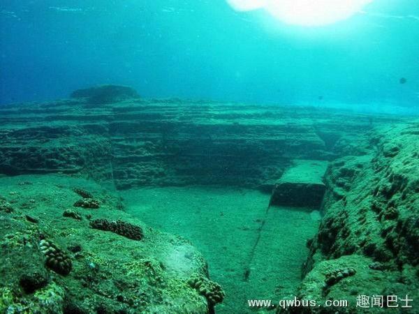 万年前姆文明神秘古城似海底龙宫