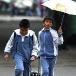 小学生放学遭绑架 管路人喊爸爸吓跑劫匪