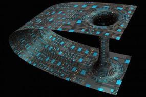 超大黑洞添加少量暗物质或形成虫洞 可用于星际旅行