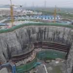 上海深坑酒店建在旧矿场 2017年建成
