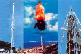 能把卫星打上太空的巨炮 如今却沉寂海边