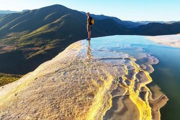 墨西哥悬崖边泳池惊险刺激令人惊叹