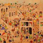30年前跳蚤市场捡漏购古画 现竟值近百万