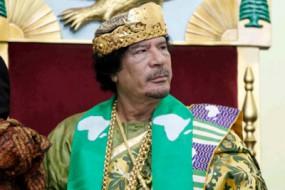卡扎菲保险箱藏巨款 银行找专业盗贼来撬