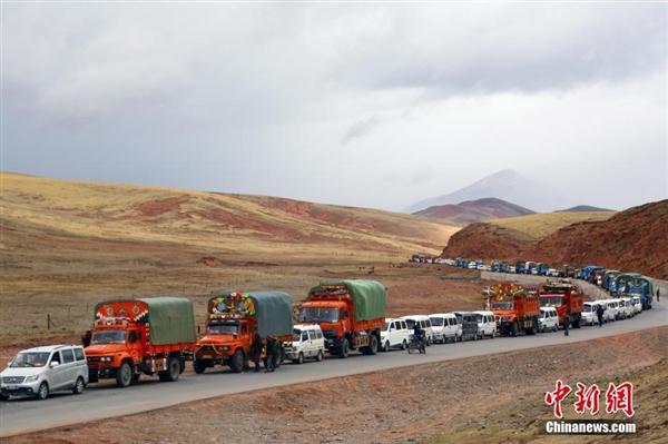 冬虫夏草丰收 牧民排队采挖:场面壮观-趣闻巴士