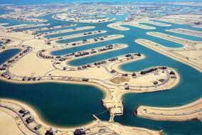 科威特引海水入沙漠建成新城市