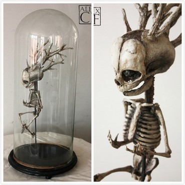 诡异博物馆:收藏吸血鬼及其他神秘生物标本