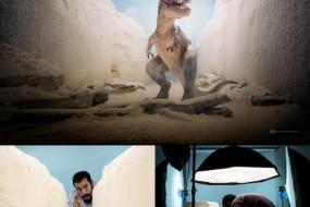 墨西哥摄影师利用仿真玩具模型造景艺术
