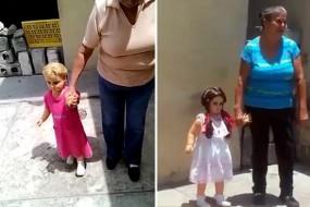 墨西哥娃娃似被施魔法 主人牵手就走别人拉不走