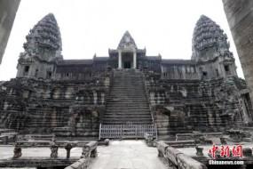 柬埔寨著名古迹吴哥窟旁藏大型地底城市