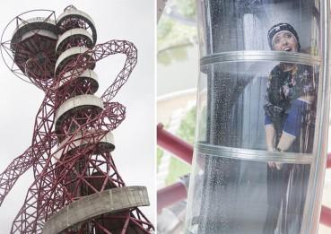 世界最高最长隧道滑梯现身伦敦