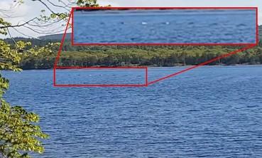 尼斯湖现神秘圆形隆起物 排列整齐