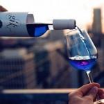 西班牙小伙研制蓝色葡萄酒