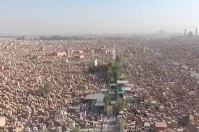 航拍伊拉克世界最大墓地 墓碑一望无际
