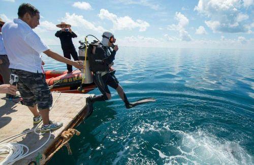 三沙最深海洋蓝洞